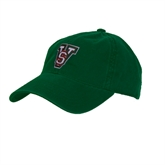 State Dark Green Twill Unstructured Low Profile Hat-VS