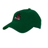 State Dark Green Twill Unstructured Low Profile Hat-Devils