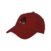State Red Twill Unstructured Low Profile Hat-Devils