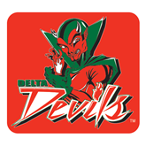 State Extra Large Magnet-Devils, 18 in W