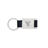 State Leather Black Key Holder-VS Engrave