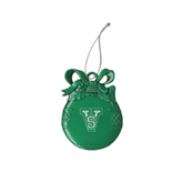 State Green Bulb Ornament-VS Engrave