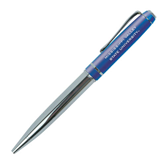 State Allegro Blue Twist Pen-Mississippi Valley State University Engrave