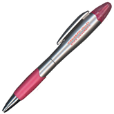 State Silver/Pink Blossom Pen/Highlighter-Mississippi Valley State University