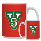 State Full Color White Mug 15oz-VS