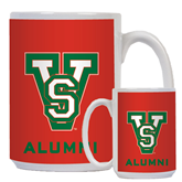 State Alumni Full Color White Mug 15oz-VS