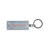 State Turbo Silver Flashlight Key Holder-Mississippi Valley State University