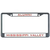State Metal License Plate Frame in Black-Devils