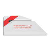 State Angled Red Stripe Letter Opener-Mississippi Valley State University