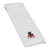 State White Golf Towel-Devils