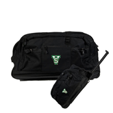 State Urban Passage Wheeled Black Duffel-VS