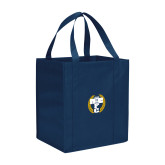 Non Woven Navy Grocery Tote-NICFC