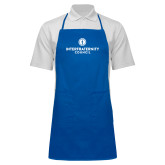 Full Length Royal Apron-Primary Logo Centered