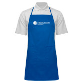 Full Length Royal Apron-Primary Logo Left