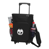30 Can Black Rolling Cooler Bag-NICFC