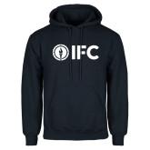 Navy Fleece Hoodie-IFC