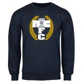 Navy Fleece Crew-NICFC