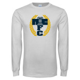 White Long Sleeve T Shirt-NICFC