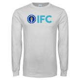 White Long Sleeve T Shirt-IFC
