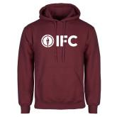 Maroon Fleece Hoodie-IFC