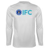 Performance White Longsleeve Shirt-IFC