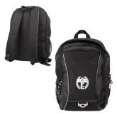Atlas Black Computer Backpack-NICFC