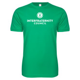 Next Level SoftStyle Kelly Green T Shirt-Primary Logo Centered