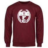 Maroon Fleece Crew-NICFC