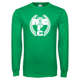 Kelly Green Long Sleeve T Shirt-NICFC