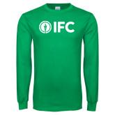 Kelly Green Long Sleeve T Shirt-IFC