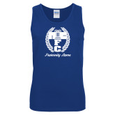 Royal Tank Top-Personalized Fraternity Name Script