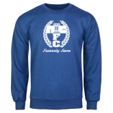 Royal Fleece Crew-Personalized Fraternity Name Script