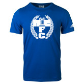 Adidas Royal Logo T Shirt-NICFC