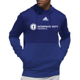 Adidas Royal Team Issue Hoodie-Primary Logo Left