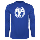 Performance Royal Longsleeve Shirt-NICFC