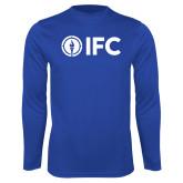Performance Royal Longsleeve Shirt-IFC