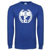 Royal Long Sleeve T Shirt-NICFC
