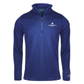 Russell Royal Heather 1/4 Zip-Primary Logo Centered