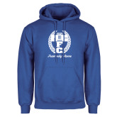 Royal Fleece Hoodie-Personalized Fraternity Name Script