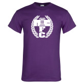 Purple T Shirt-NICFC