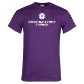 Purple T Shirt-Primary Logo Centered