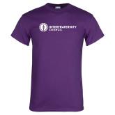 Purple T Shirt-Primary Logo Left