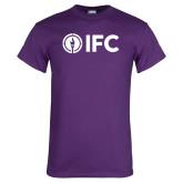 Purple T Shirt-IFC
