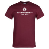 Maroon T Shirt-Primary Logo Centered