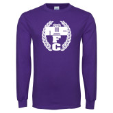 Purple Long Sleeve T Shirt-NICFC