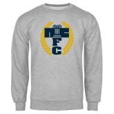 Grey Fleece Crew-NICFC