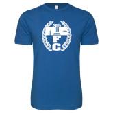Next Level SoftStyle Royal T Shirt-NICFC