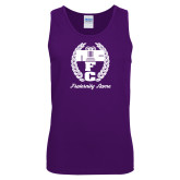 Purple Tank Top-Personalized Fraternity Name Script