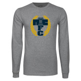 Grey Long Sleeve T Shirt-NICFC