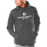 Under Armour Carbon Armour Fleece Hoodie-Primary Logo Centered
